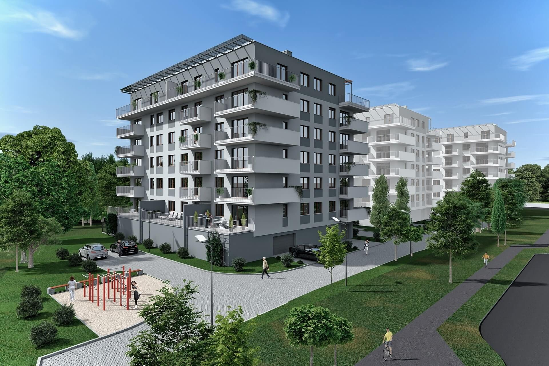 Łódź: Uniwersum – Dynamix buduje osiedle przy uczelnianym kampusie