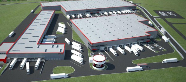 Docelowy wygląd Segro Industrial Park Wrocław po rozbudowie (wizualizacja:  materiały inwestora)