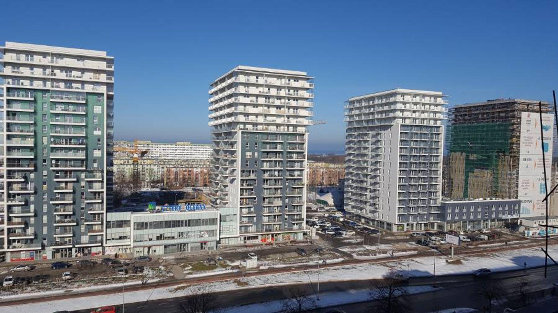 [Gdańsk] III etap inwestycji Cztery Oceany w Gdańsku z pozwoleniem na użytkowanie