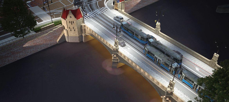 Wrocław: Zabytkowe mosty Pomorskie
