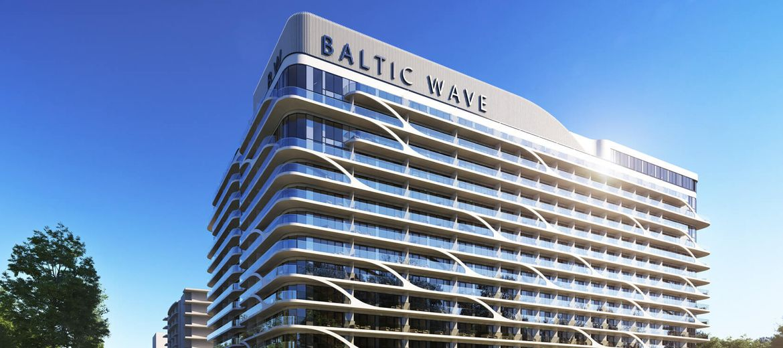 Budowa condohotelu Baltic Wave