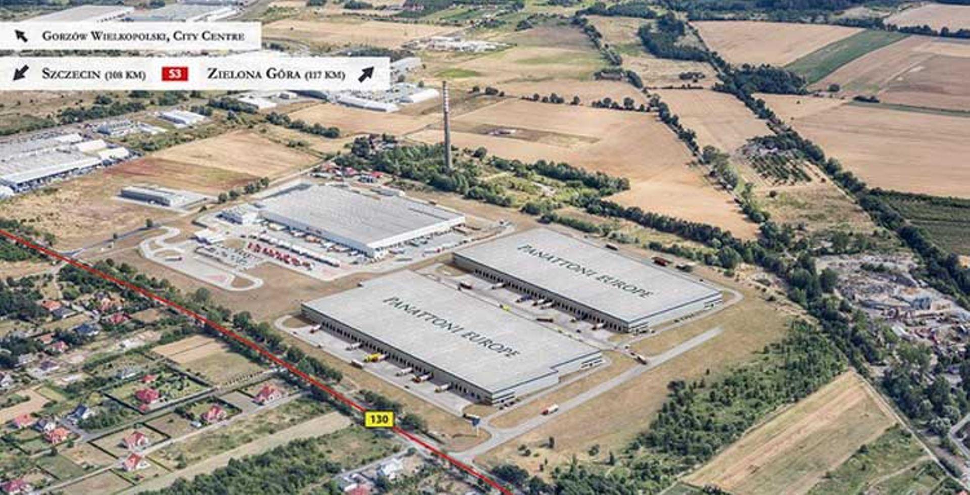 [Gorzów Wielkopolski] Panattoni wybuduje park logistyczny w Gorzowie Wielkopolskim