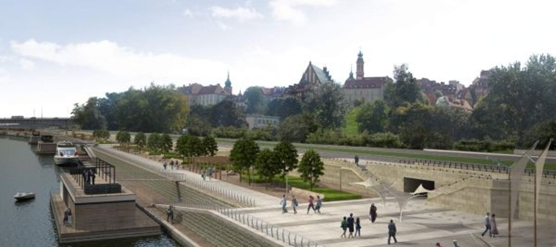 Warszawa inwestuje w Wisłę: