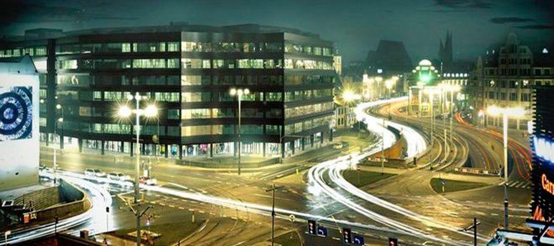 We Wrocławiu biurowce rosną
