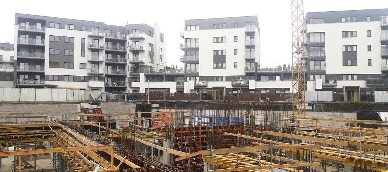 Budowa osiedla Nowe Ogrody