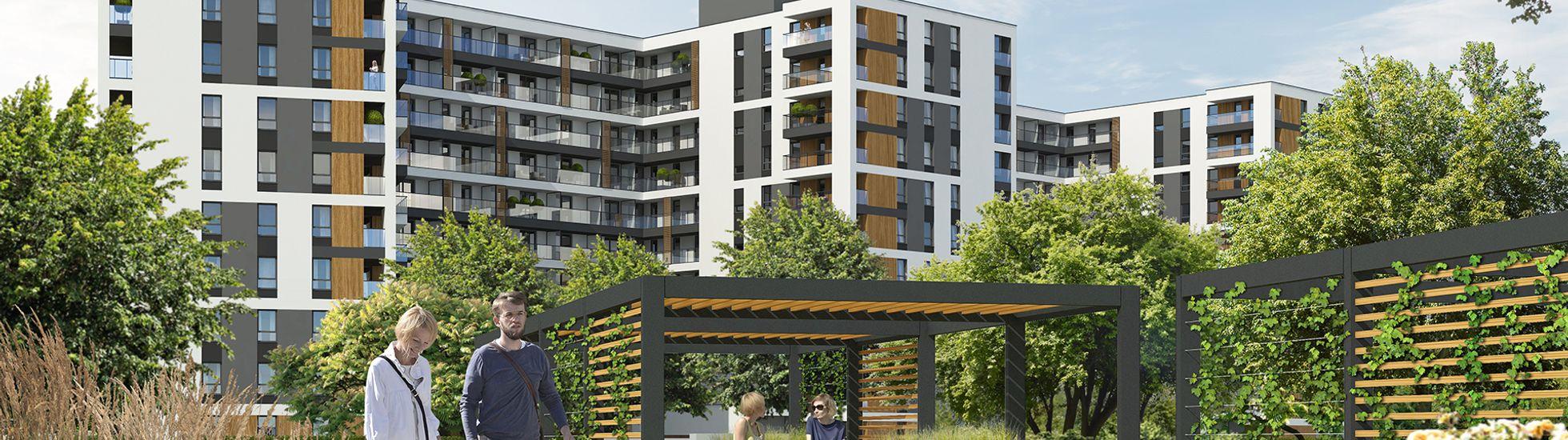 Warszawa: Parkur Residence – YIT stawia osiedle z ogrodami na dachach przy torze wyścigów konnych