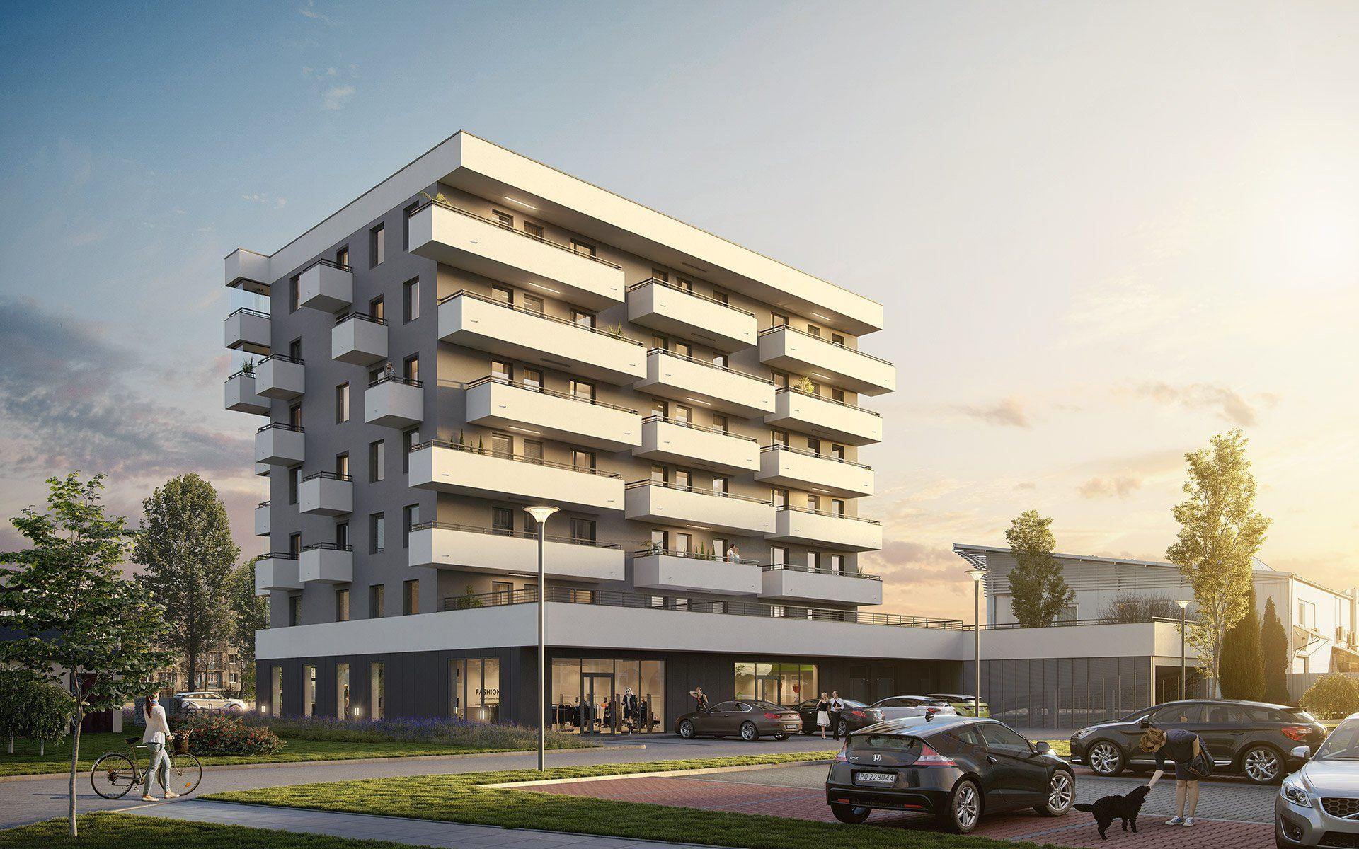 Kraków: Spółdzielnia mieszkaniowa buduje na Podgórzu