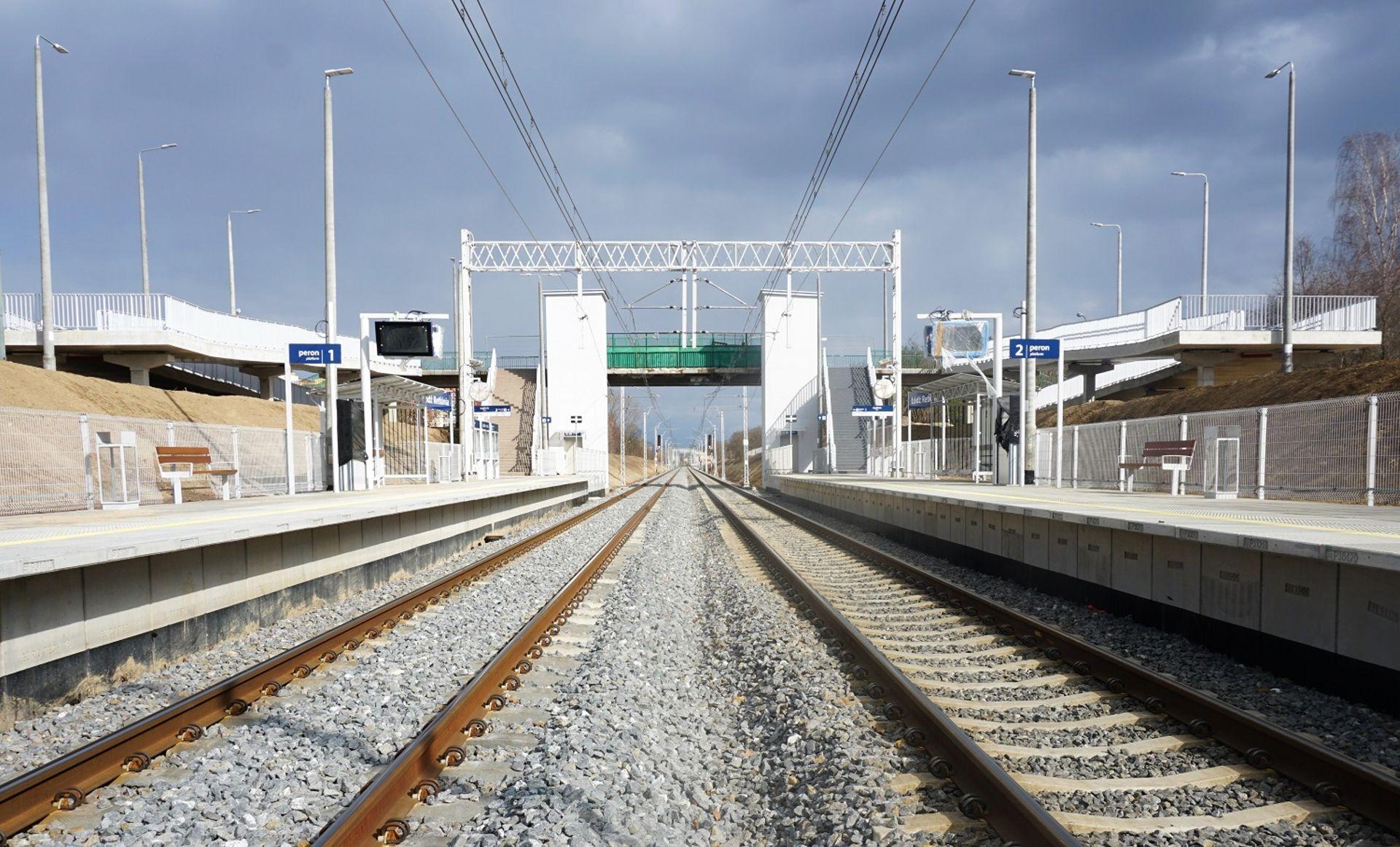 Nowe przystanki Łódź Radogoszcz Wschód i Łódź Andrzejów Szosa ułatwią podróże koleją w aglomeracji łódzkiej