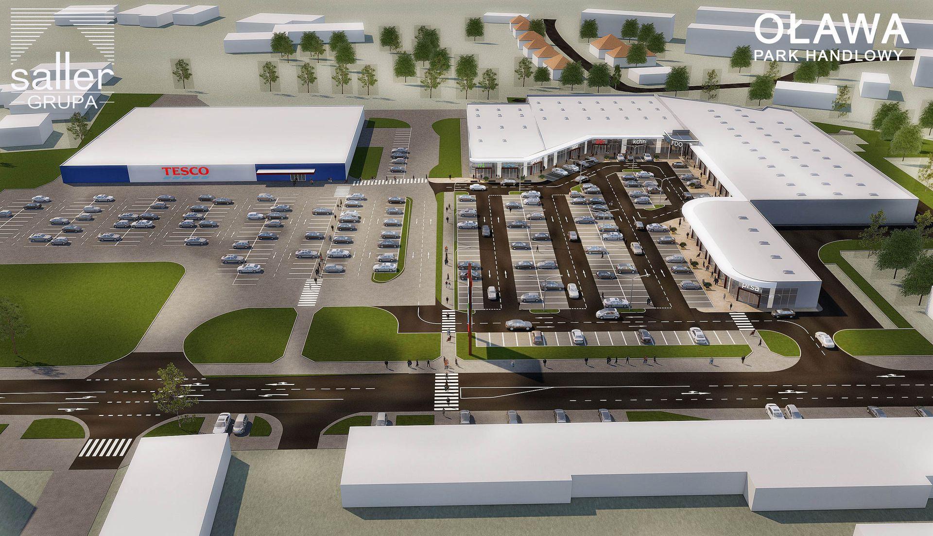 [Dolny Śląsk] Nowy park handlowy w Oławie. Ma być gotowy w przyszłym roku