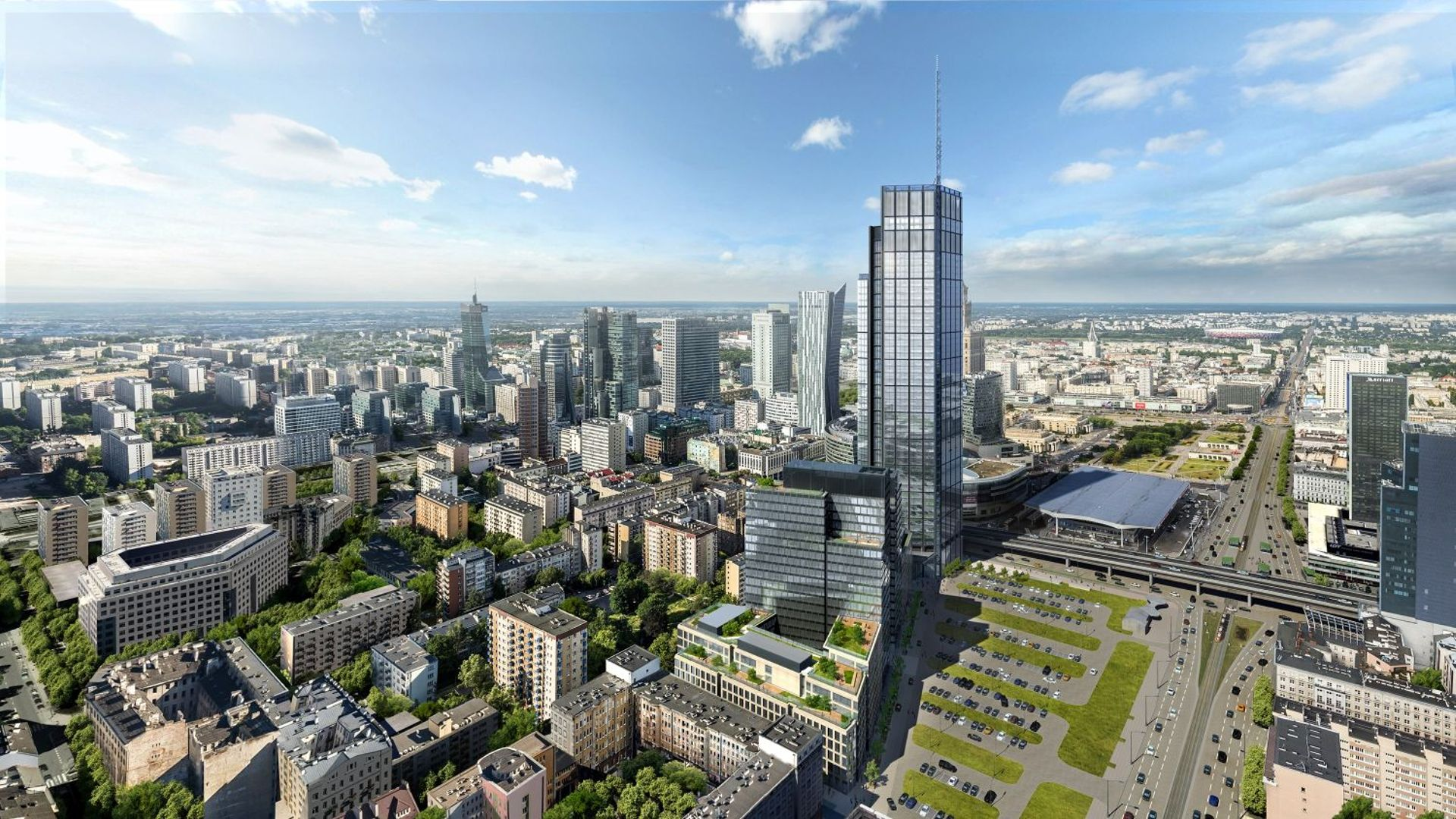 [Warszawa] Mniejsza z wież Varso Tower wynajęta już w 85%