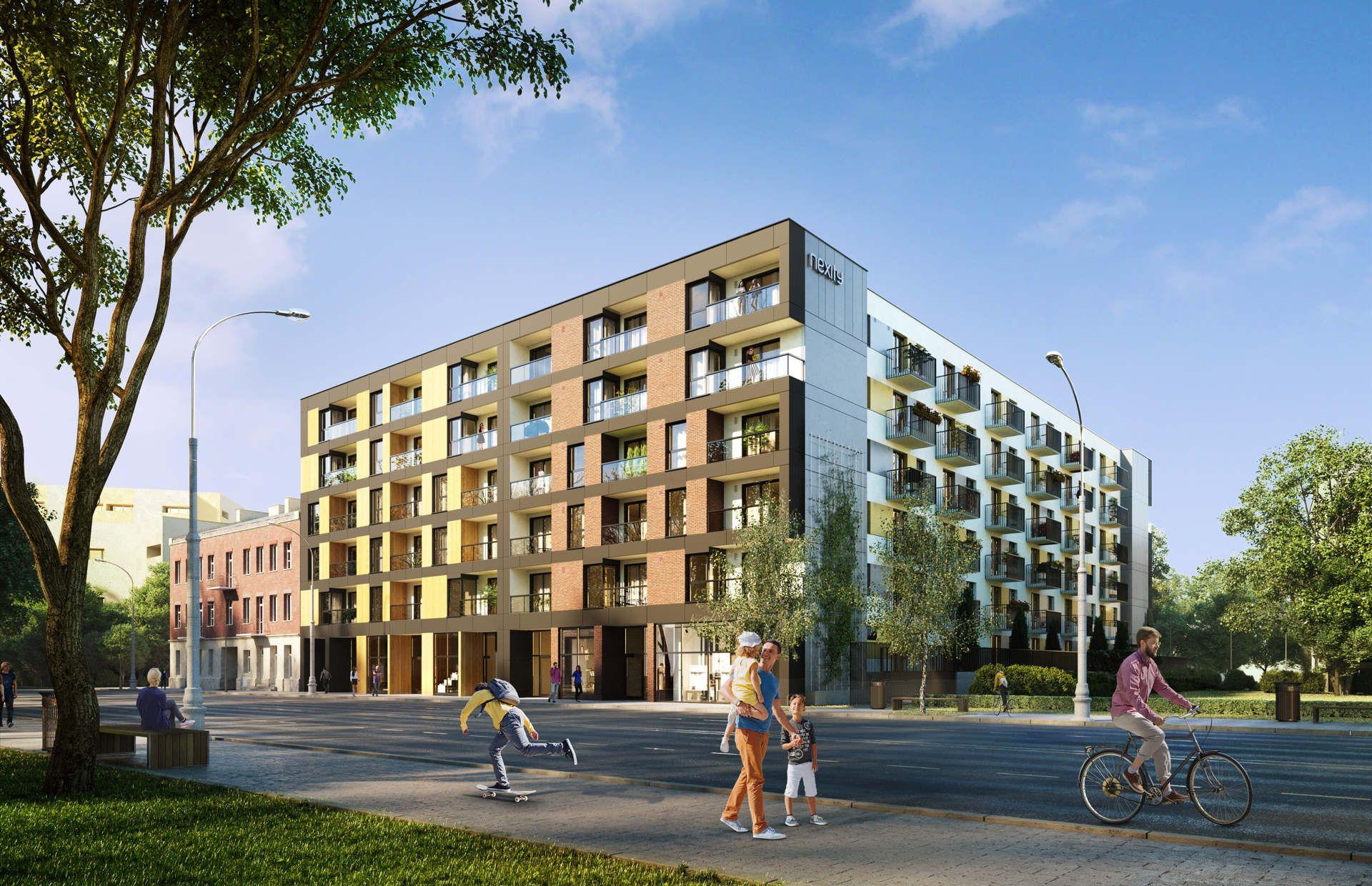 Warszawa: La Praga – Nexity zbuduje dwuetapowe osiedla na Pradze-Północ