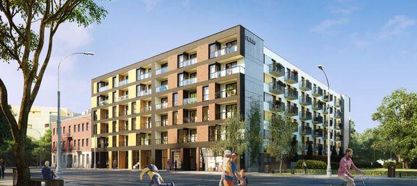 Warszawa: La Praga – Nexity zbuduje dwuetapowe osiedla na Pradze-Północ [WIZUALIZACJE]
