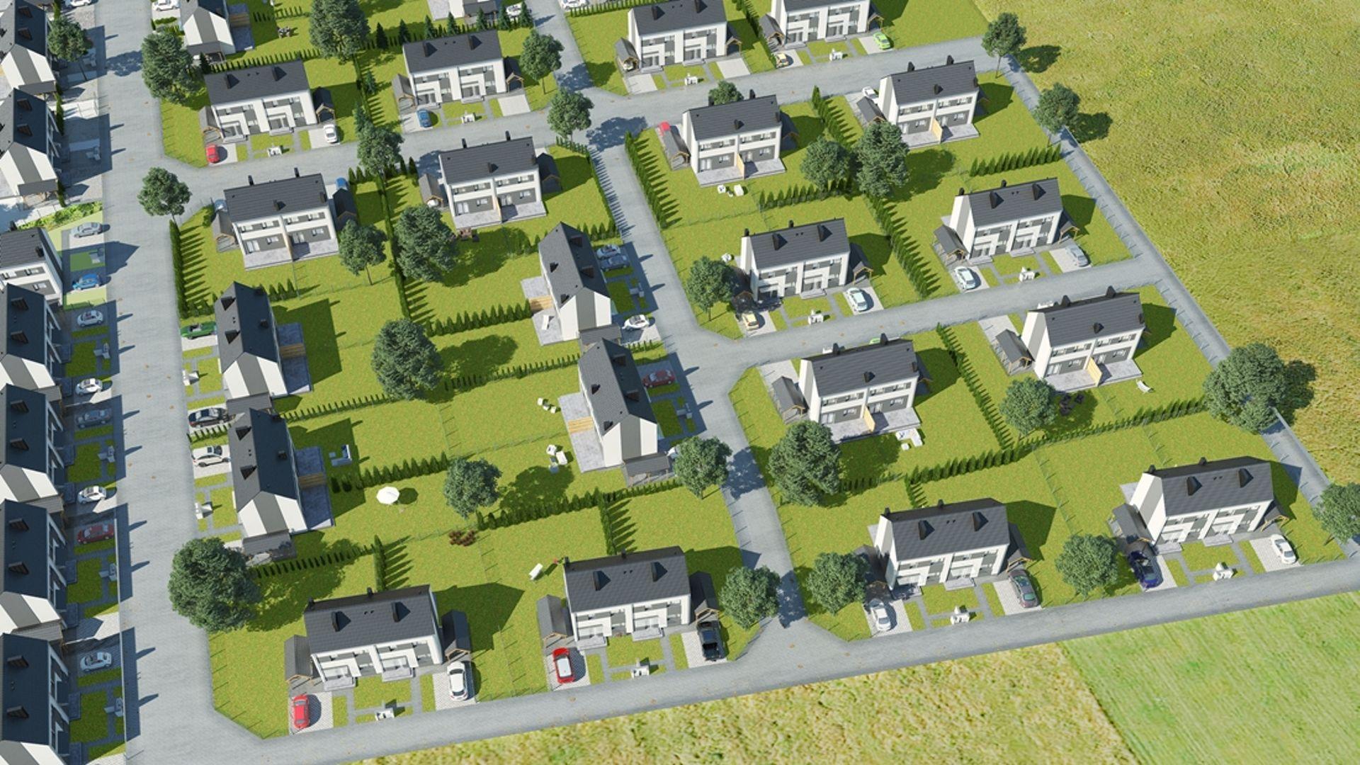 [wielkopolskie] IV etap osiedla domów Zielone Rabowice II pod Poznaniem w sprzedaży