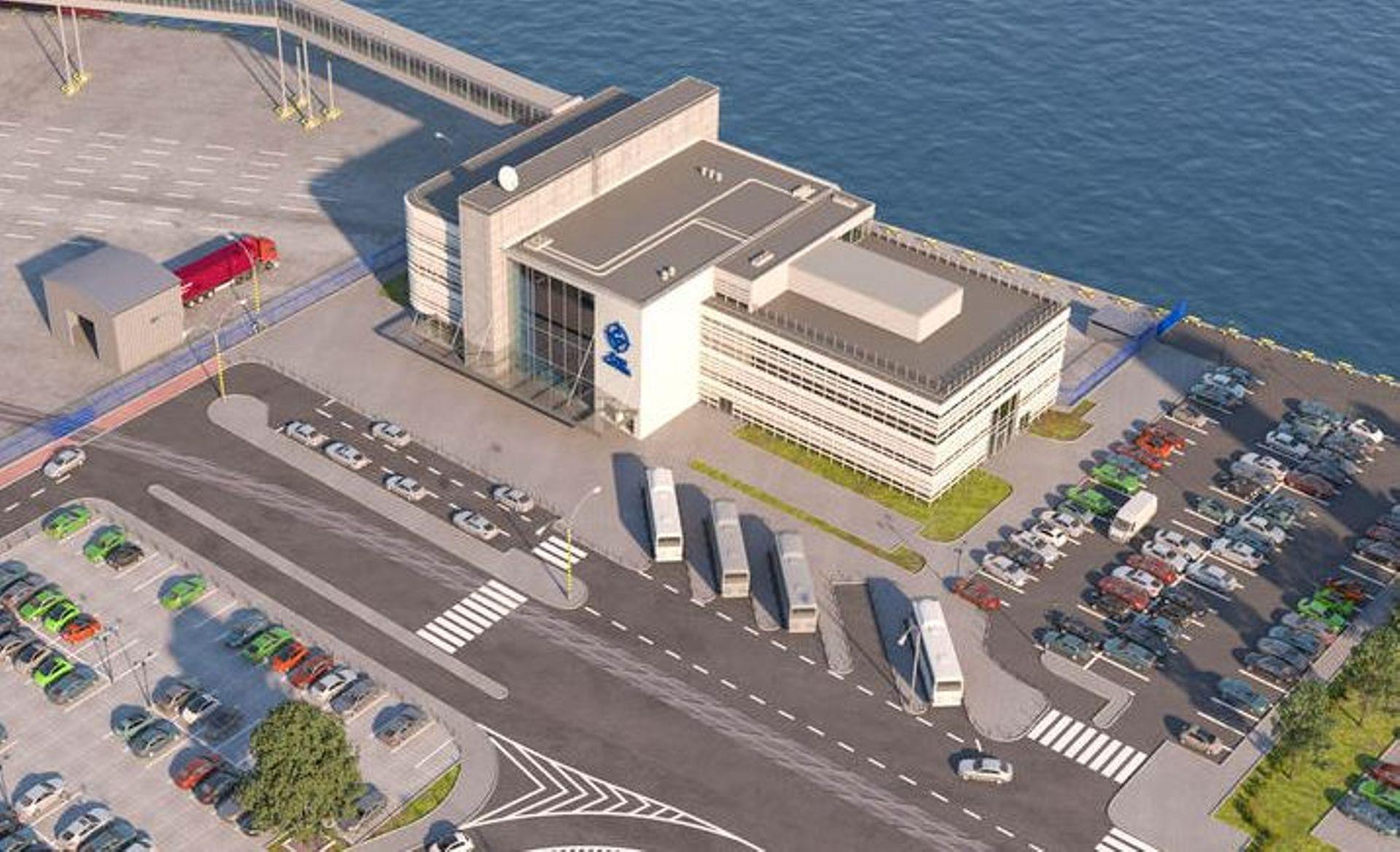 Gdynia: Nowy Publiczny Terminal Promowy prawie gotowy