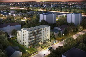Kraków: Turystyczna 15 – PB Start buduje kilkadziesiąt mieszkań na Prądniku Białym [WIZUALIZACJE]