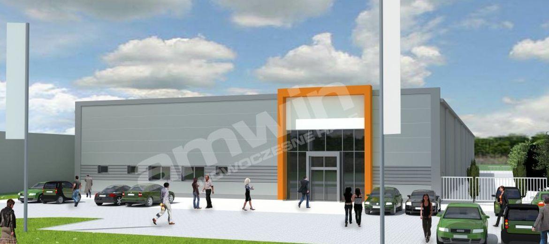 Zakończenie budowy hali handlowo-magazynowej