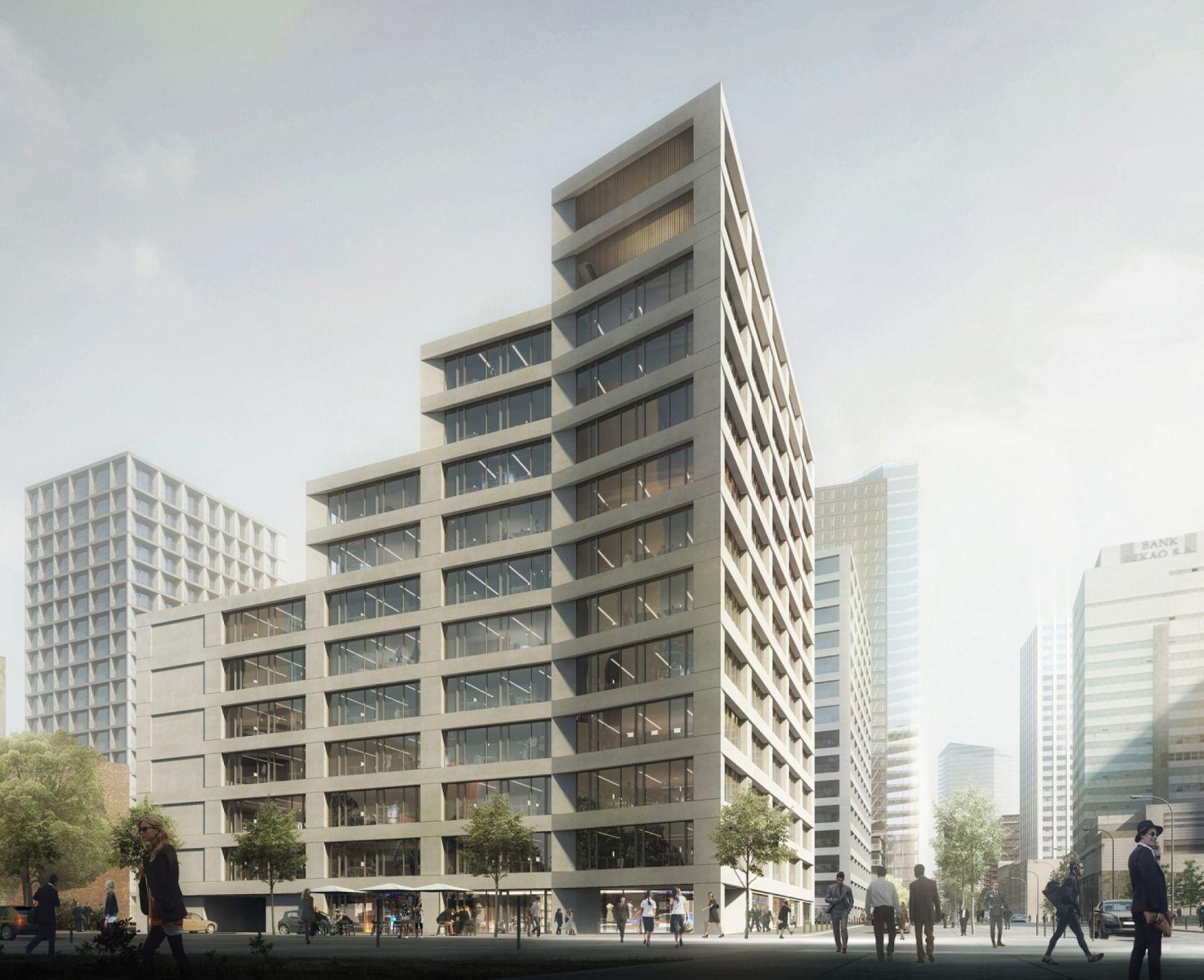 [Warszawa] Echo Investment sprzedało pierwszy biurowiec w kompleksie Browary Warszawskie