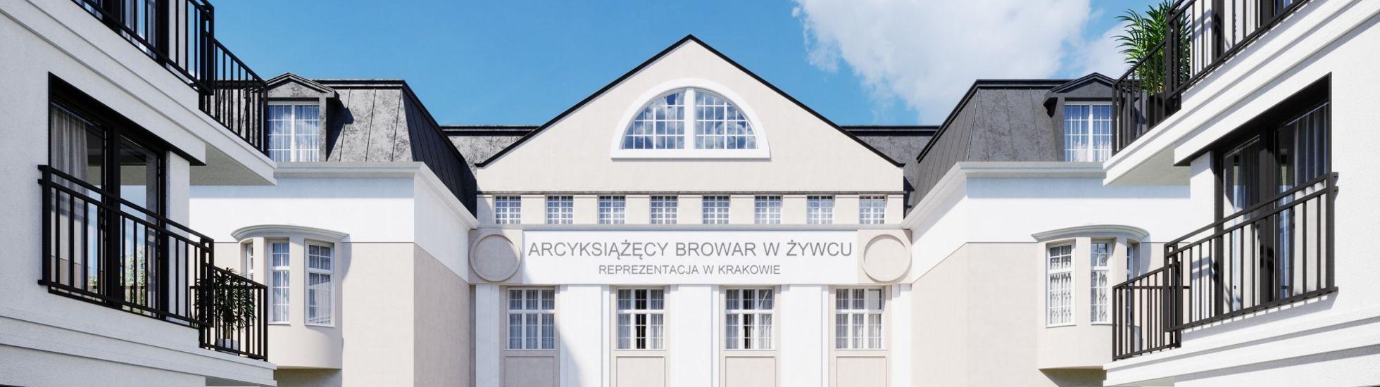 Kraków: Browar Kleparz – Fracthon przebudowuje zabytkową rozlewnię piwa na apartamentowiec