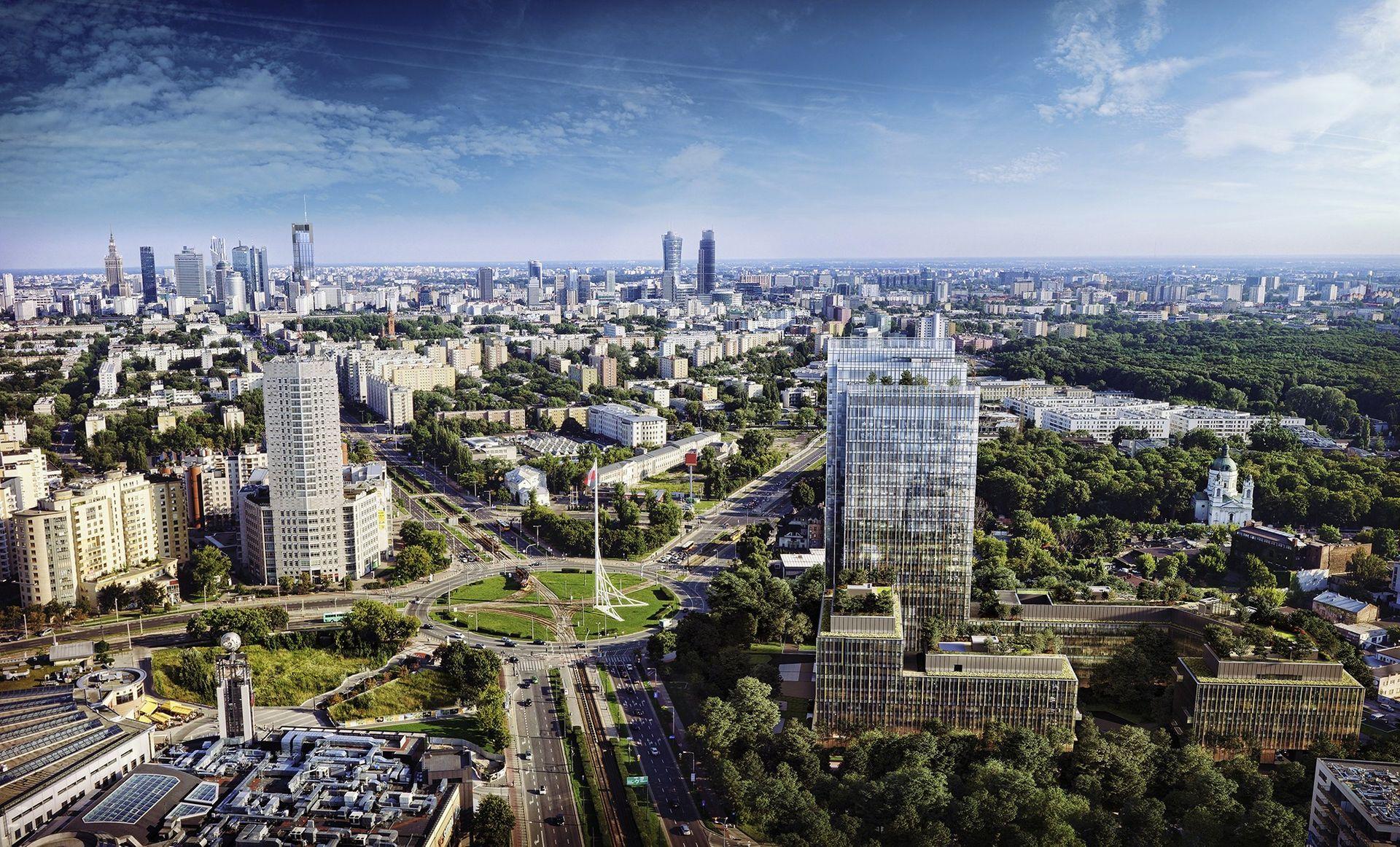 W Warszawie powstaje kompleks biurowy Forest [FILM]
