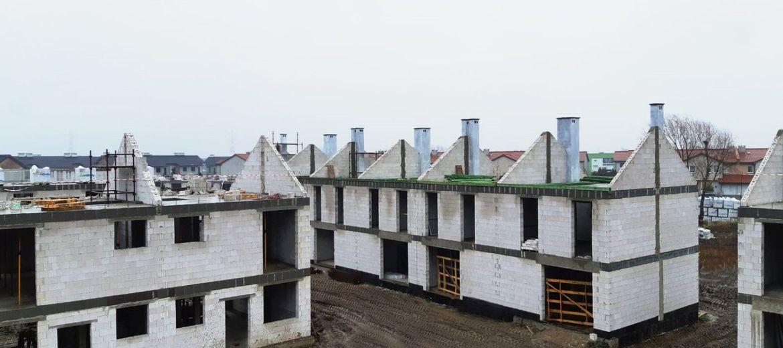 Ostatnie domy na osiedlu