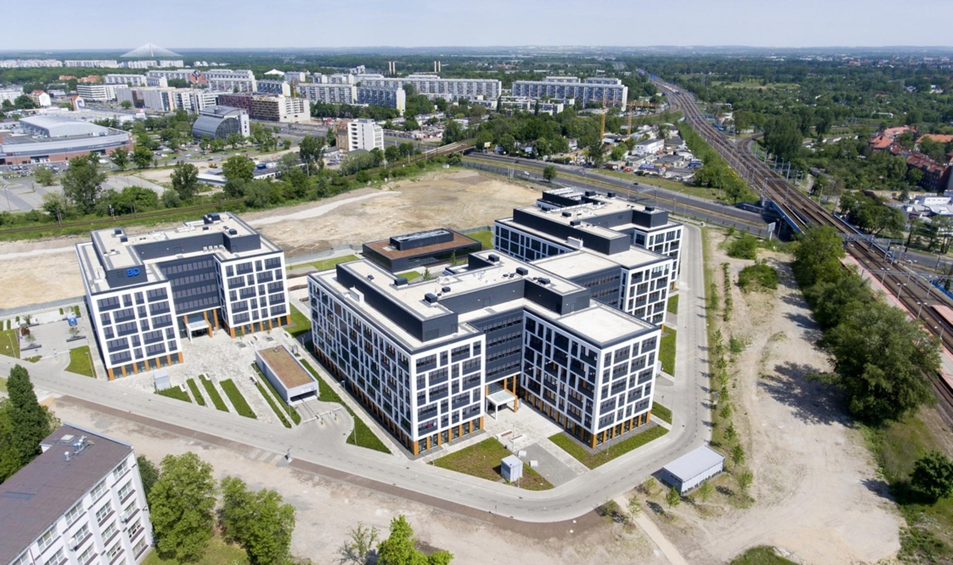 Wrocław: Vastint sprzedał trzy biurowce w kompleksie Business Garden Wrocław