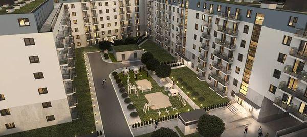 Poznań: Art Malta – Art-Bud buduje prawie 400 mieszkań nad Jeziorem Maltańskim [WIZUALIZACJE]