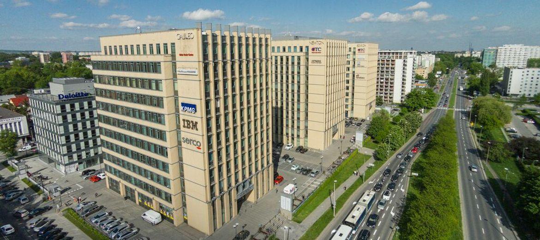 Biurowce GTC w Krakowie