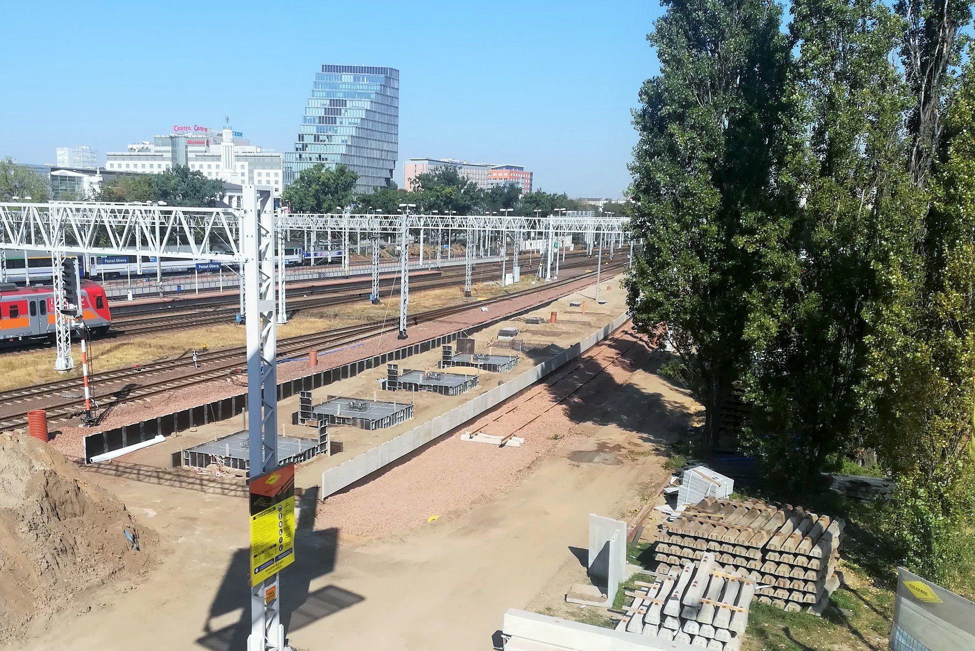 Poznań: Na dworcu głównym pojawi się nowy peron