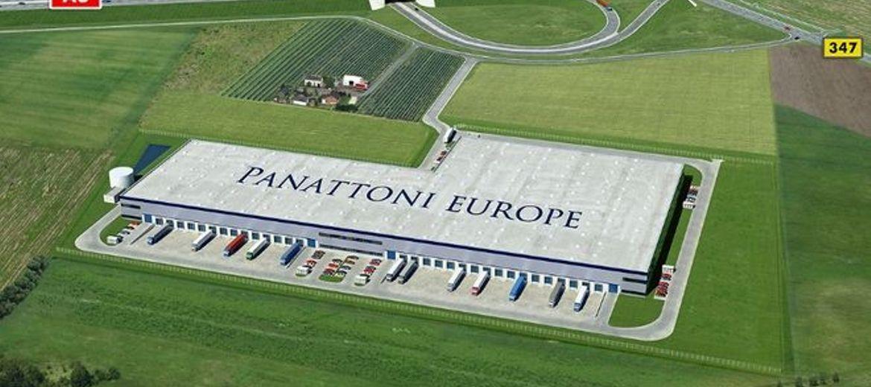 Żródło: panattonieurope.com – Wizualizacja nowego kompleksu Panattoni w Cesarzowicach