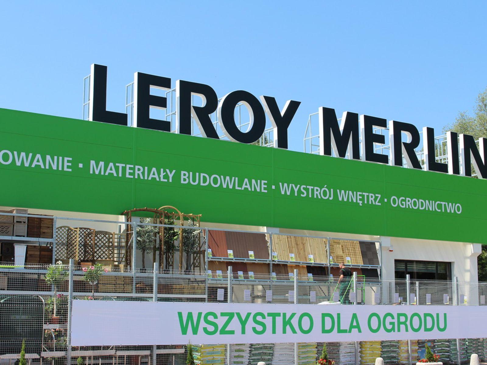 Ruszyla Budowa Marketu Leroy Merlin W Podwroclawskim Mirkowie Zdjecia Mirkow Investmap Pl