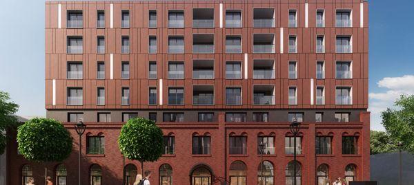 Wrocław: Apartamenty Halo – na terenie dawnej piekarni powstają mieszkania [WIZUALIZACJE]