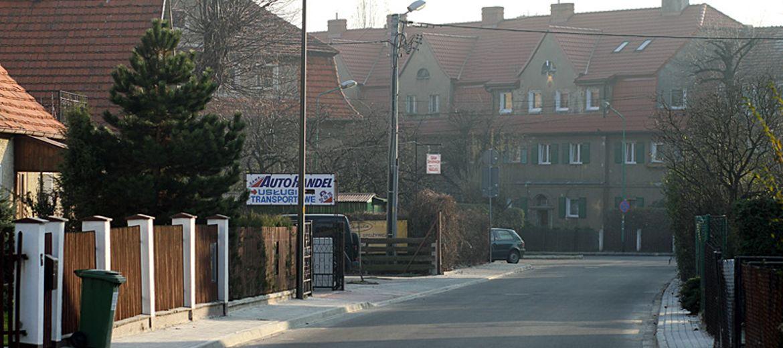 Świdnica: ulica Bystrzycka od