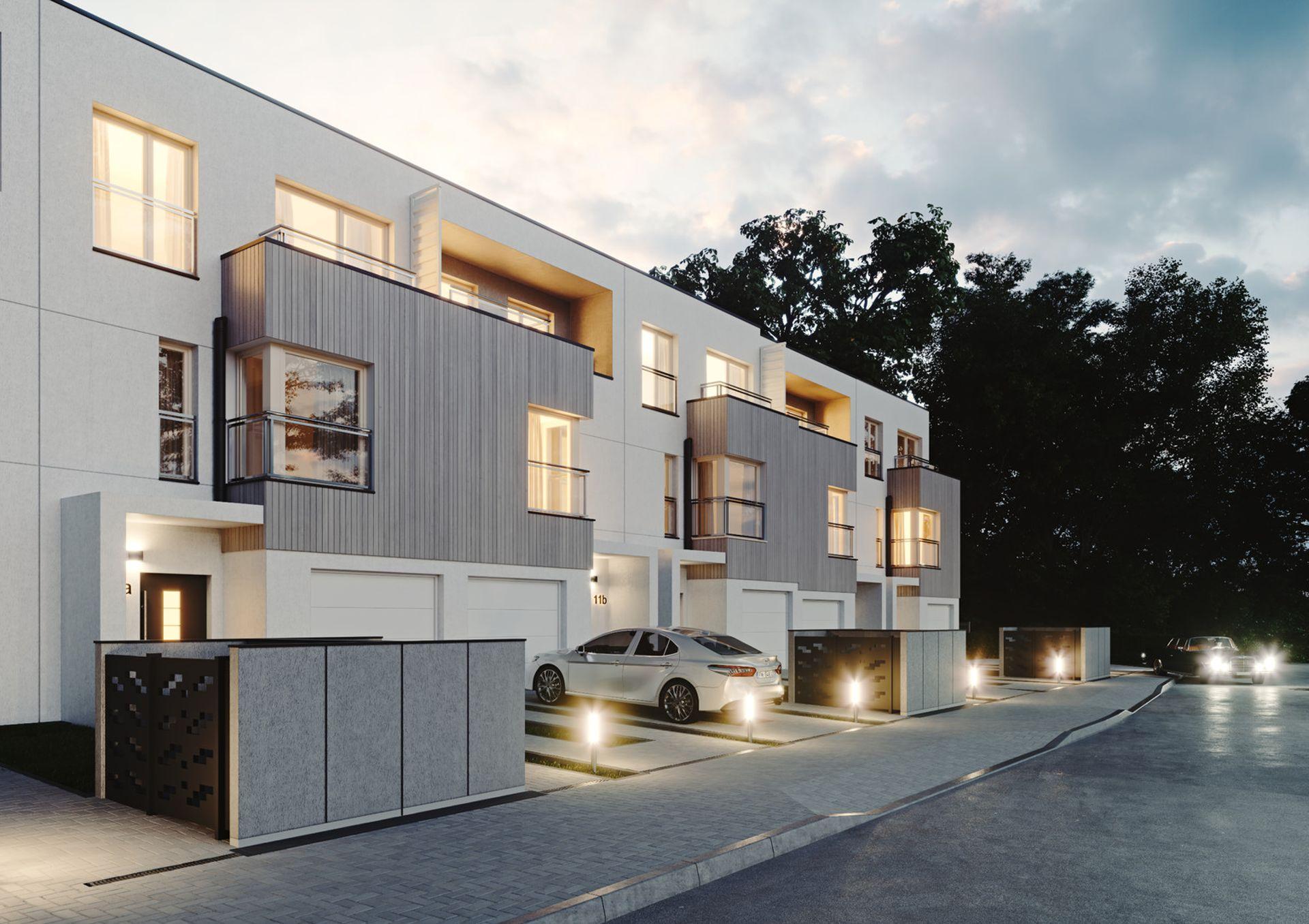 Warszawa: Forest Homes – Real Estate Development stawia szeregówki na Białołęce