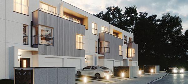 Warszawa: Forest Homes – Real Estate Development stawia szeregówki na Białołęce [WIZUALIZACJE]