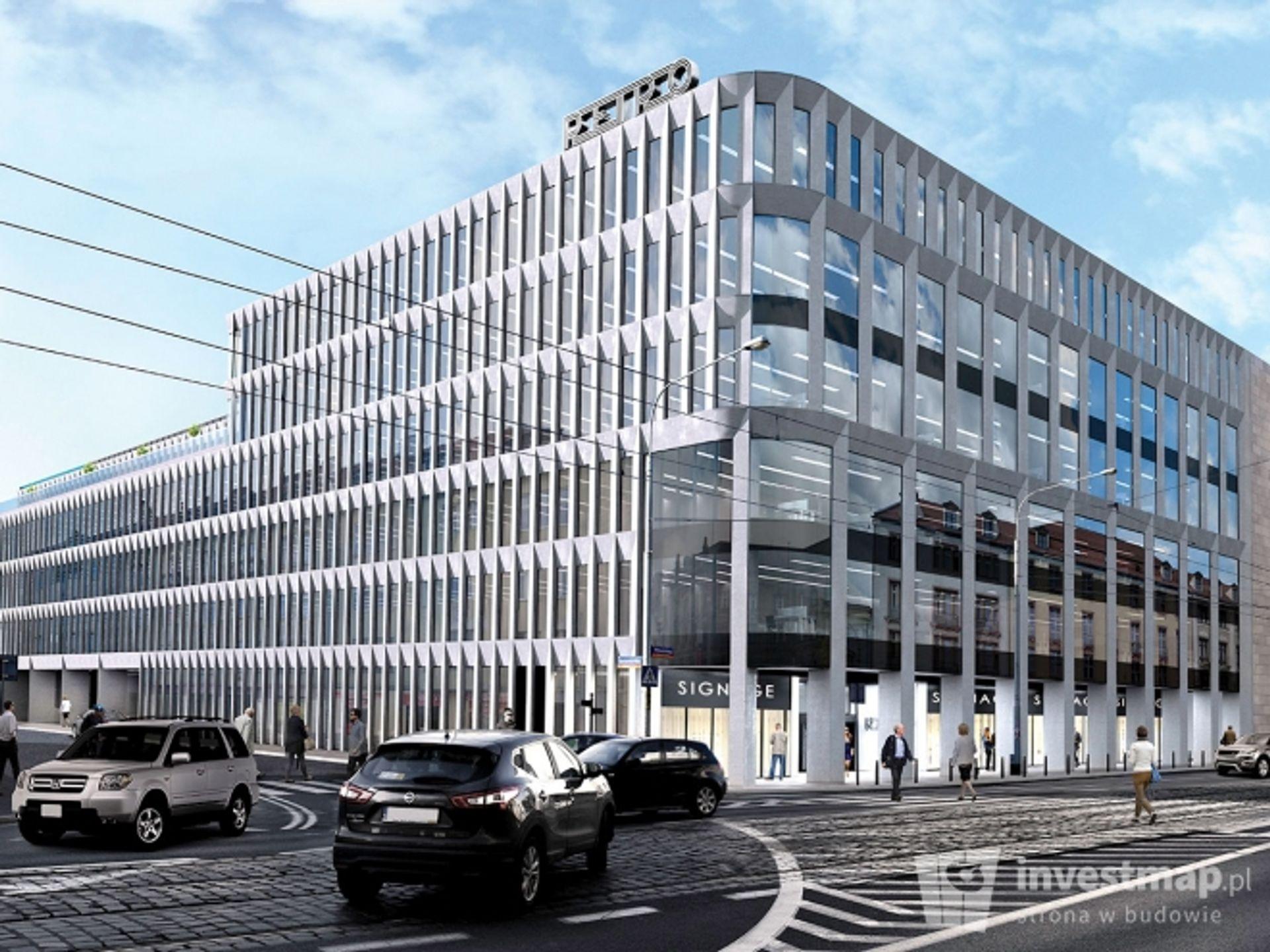 [Wrocław] Leszek Czarnecki postawi biurowiec tuż obok Capitolu. Budowa rusza [WIZUALIZACJE]