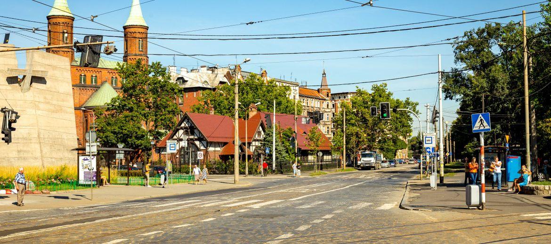 Wrocław: Remont Pomorskiej coraz