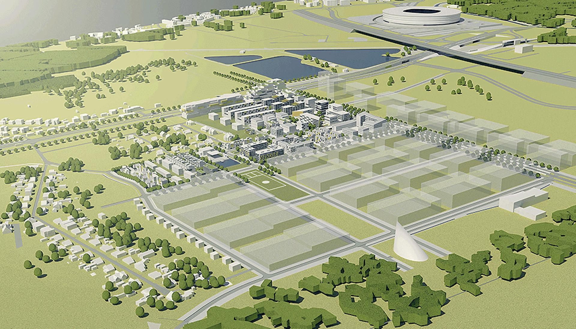 Wrocław: Dwie kooperatywy będą budować obok siebie mieszkania na Nowych Żernikach