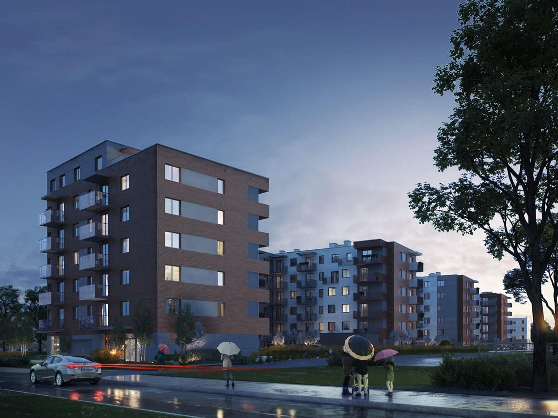 Warszawa: Mały Grochów – LC Corp bliski budowy ponad 200 mieszkań na Pradze-Południe