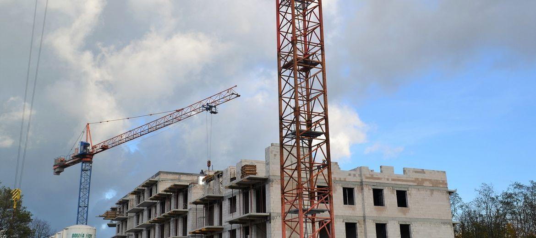 Postępy na budowie Reduta