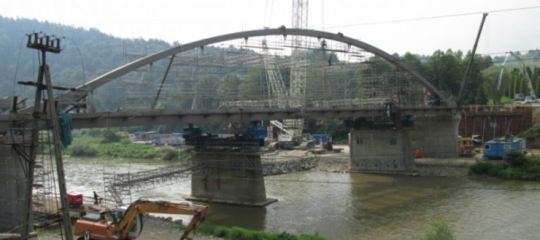 Most na DK-87 w
