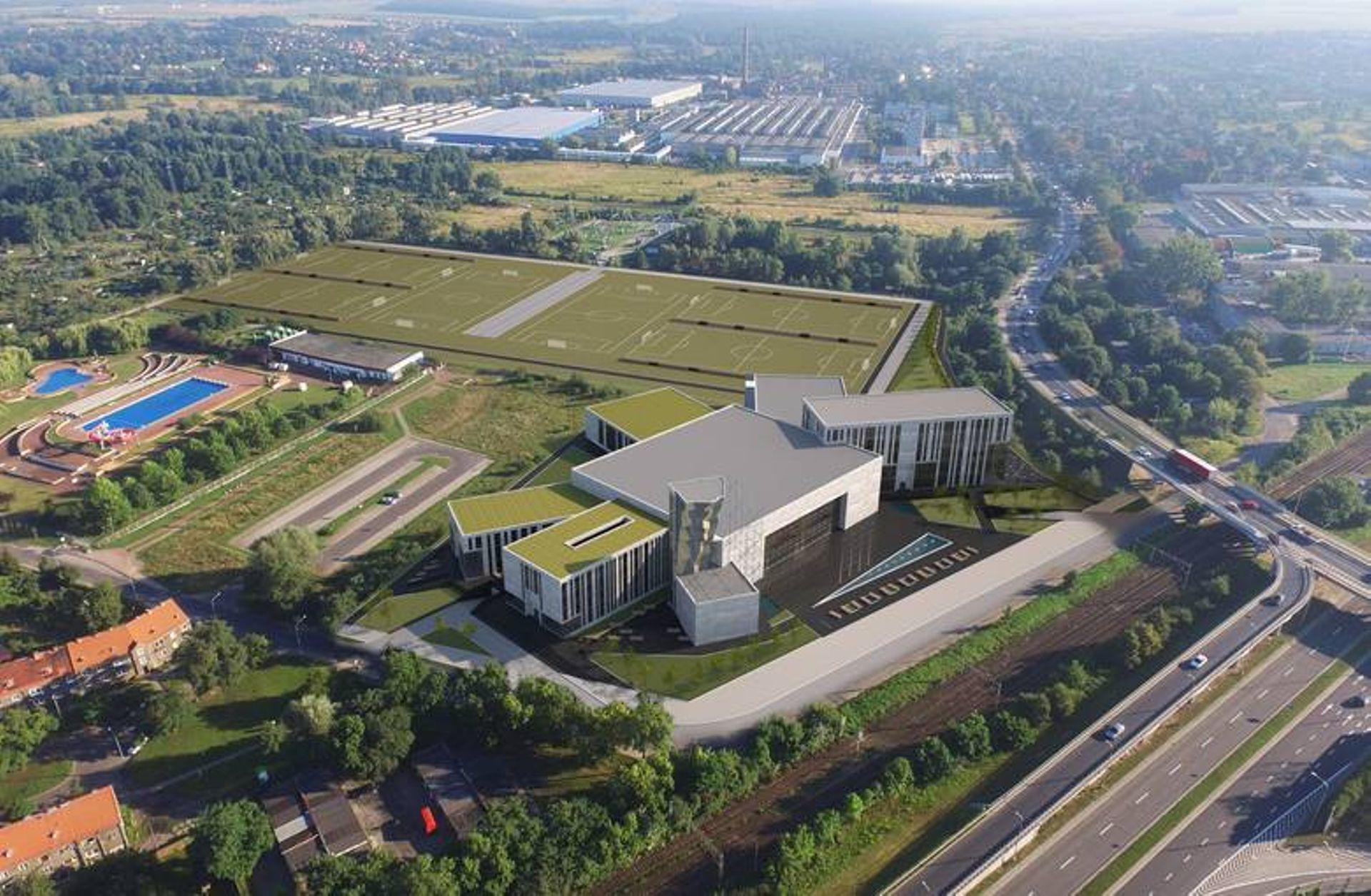 Wrocław: Rusza budowa I etapu kompleksu sportowo-rekreacyjno-biznesowego Ślęzy na Kłokoczycach