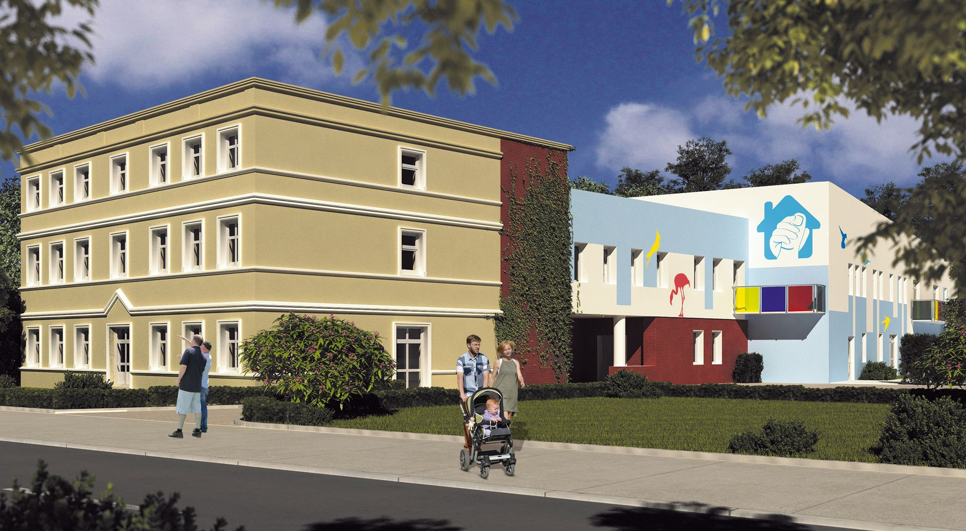 Wrocław: Fundacja zbuduje Dom Opieki Wyręczającej. Potrzebuje siedmiu milionów [WIZUALIZACJE + FILM]