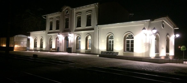 Dworzec w Brzegu Dolnym