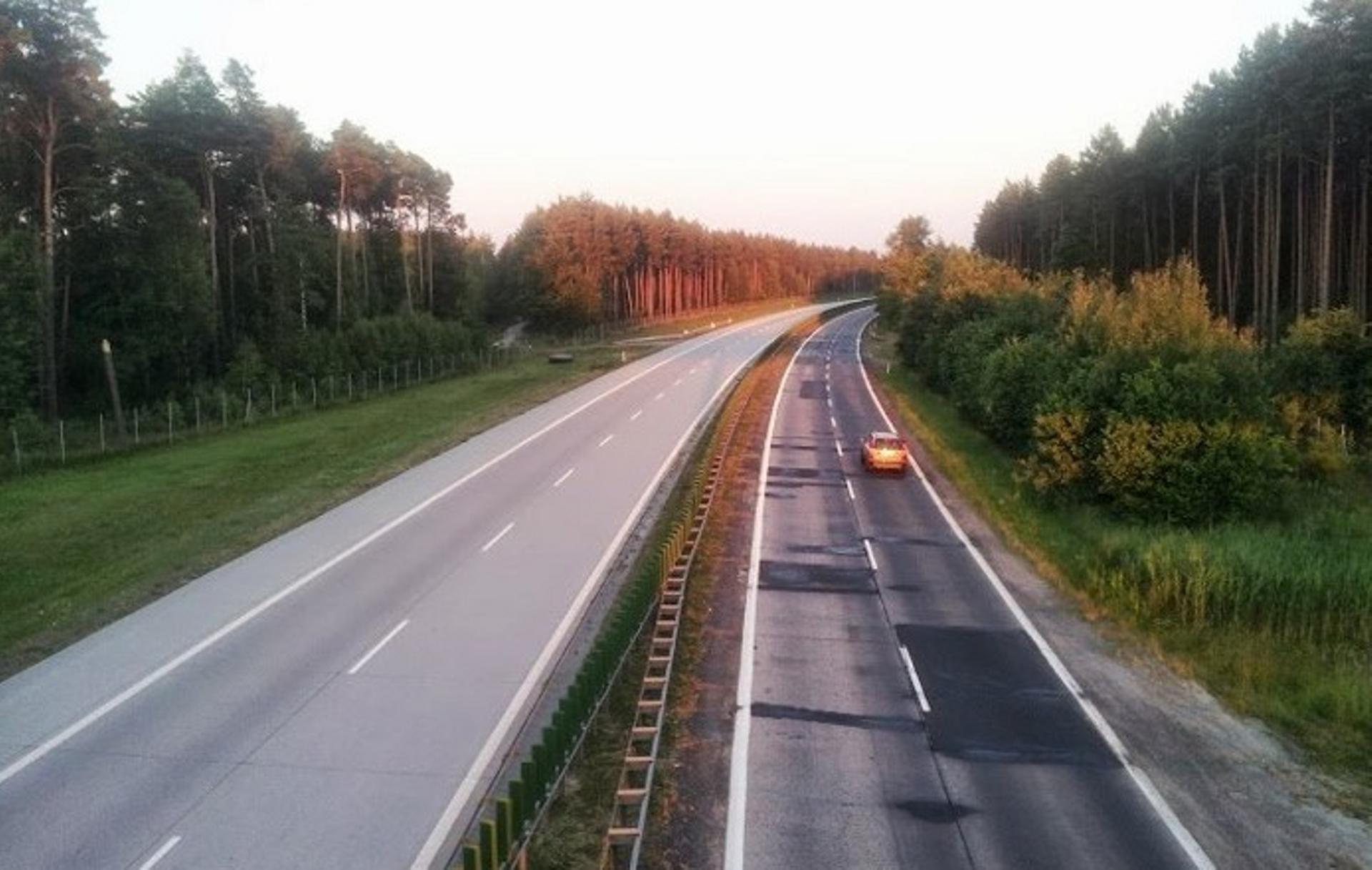 [dolnośląskie/lubuskie] Będzie generalna przebudowa najbardziej zniszczonego fragmentu autostrady A18 (DK18): Olszyna-Golnice