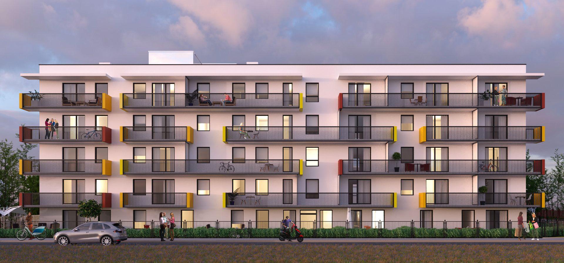 Warszawa: Fleminga Residence – Tryboń PPI stawia na Białołęce budynek mieszkalny z fotowoltaiką na dachu