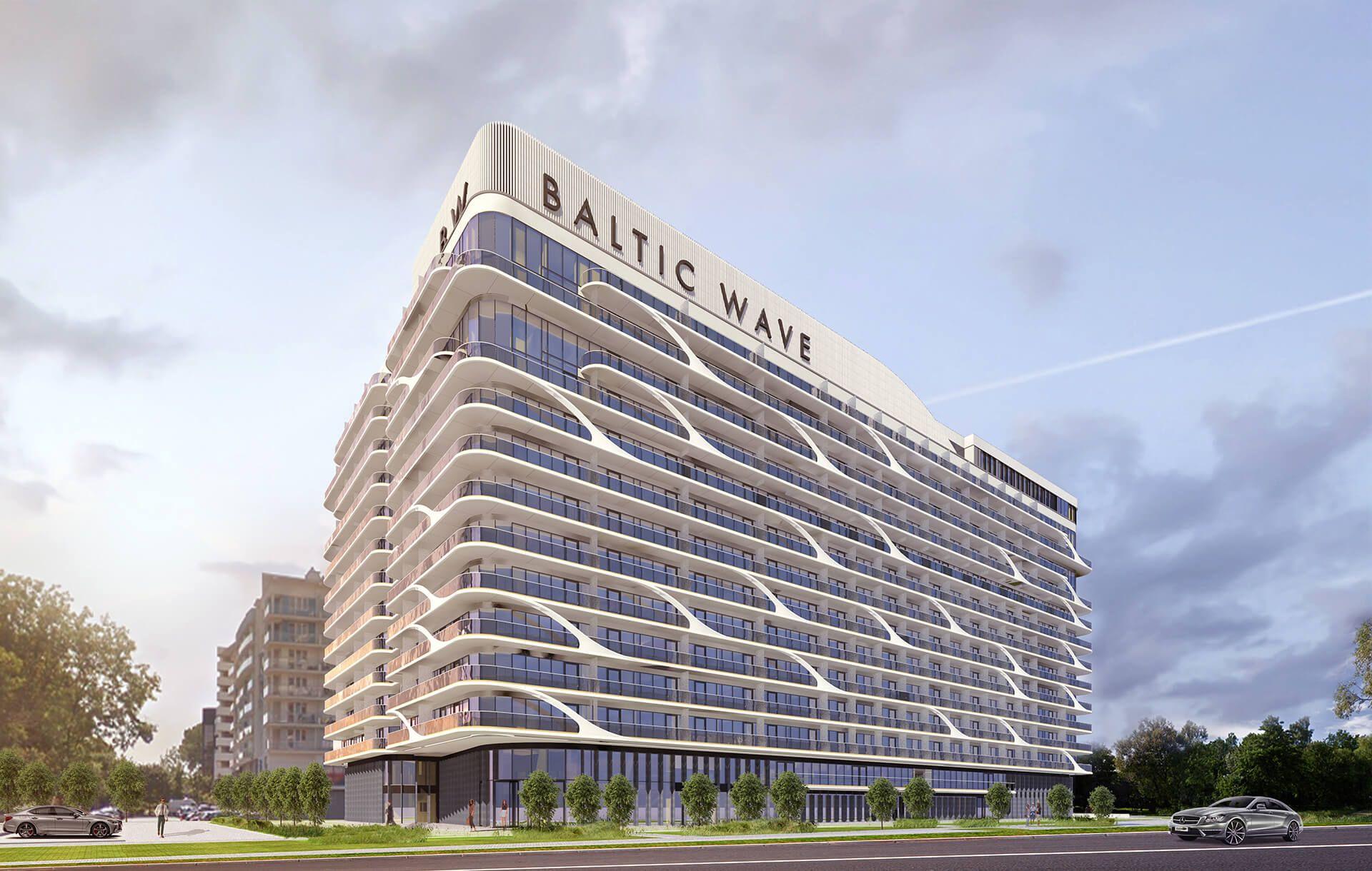 [zachodniopomorskie] Budowa condohotelu Baltic Wave w Kołobrzegu wystartowała