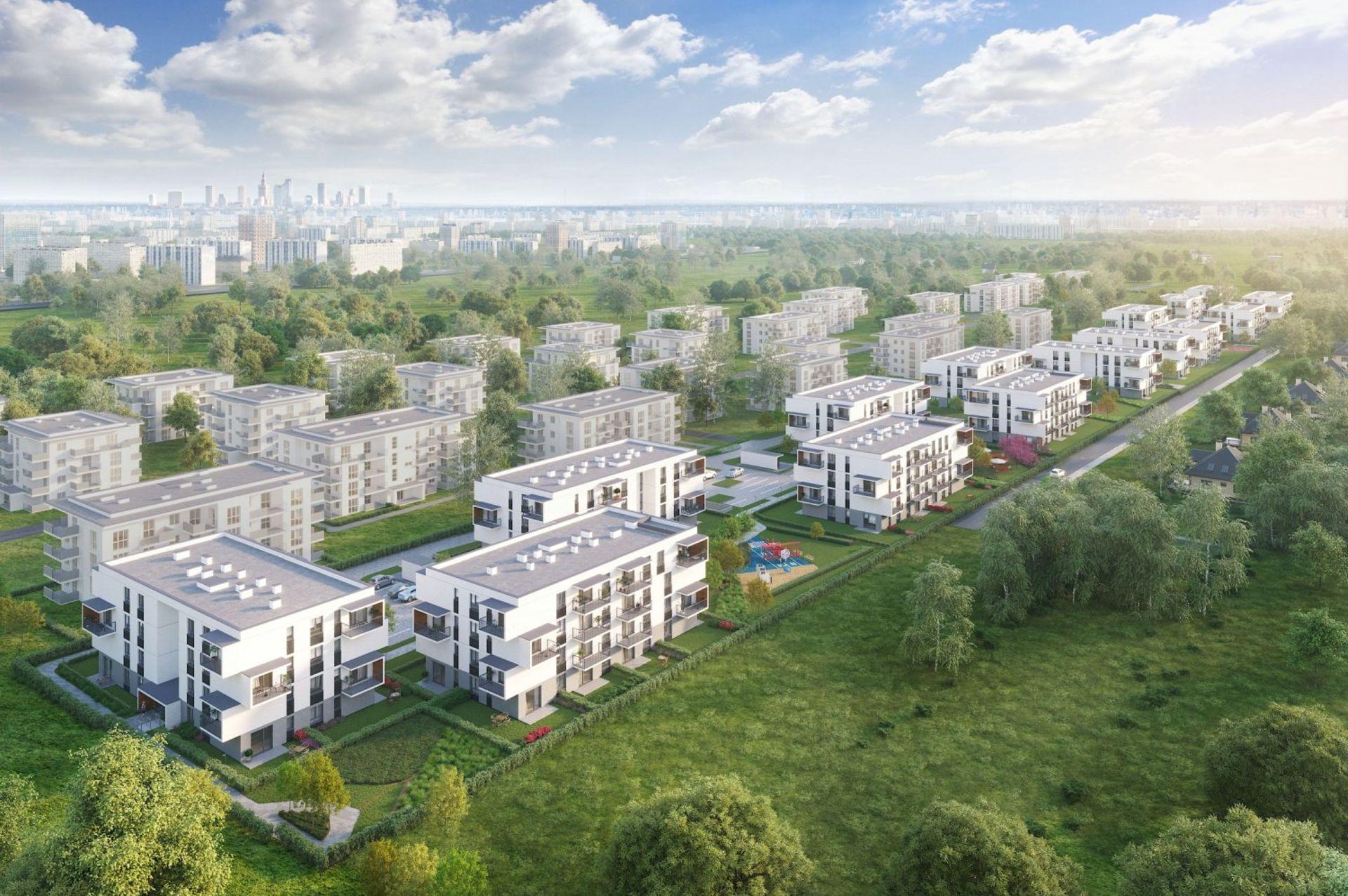 Warszawa: Prawie 500 nowych mieszkań na Chrzanowie. Unidevelopment ruszył z budową osiedla Coopera