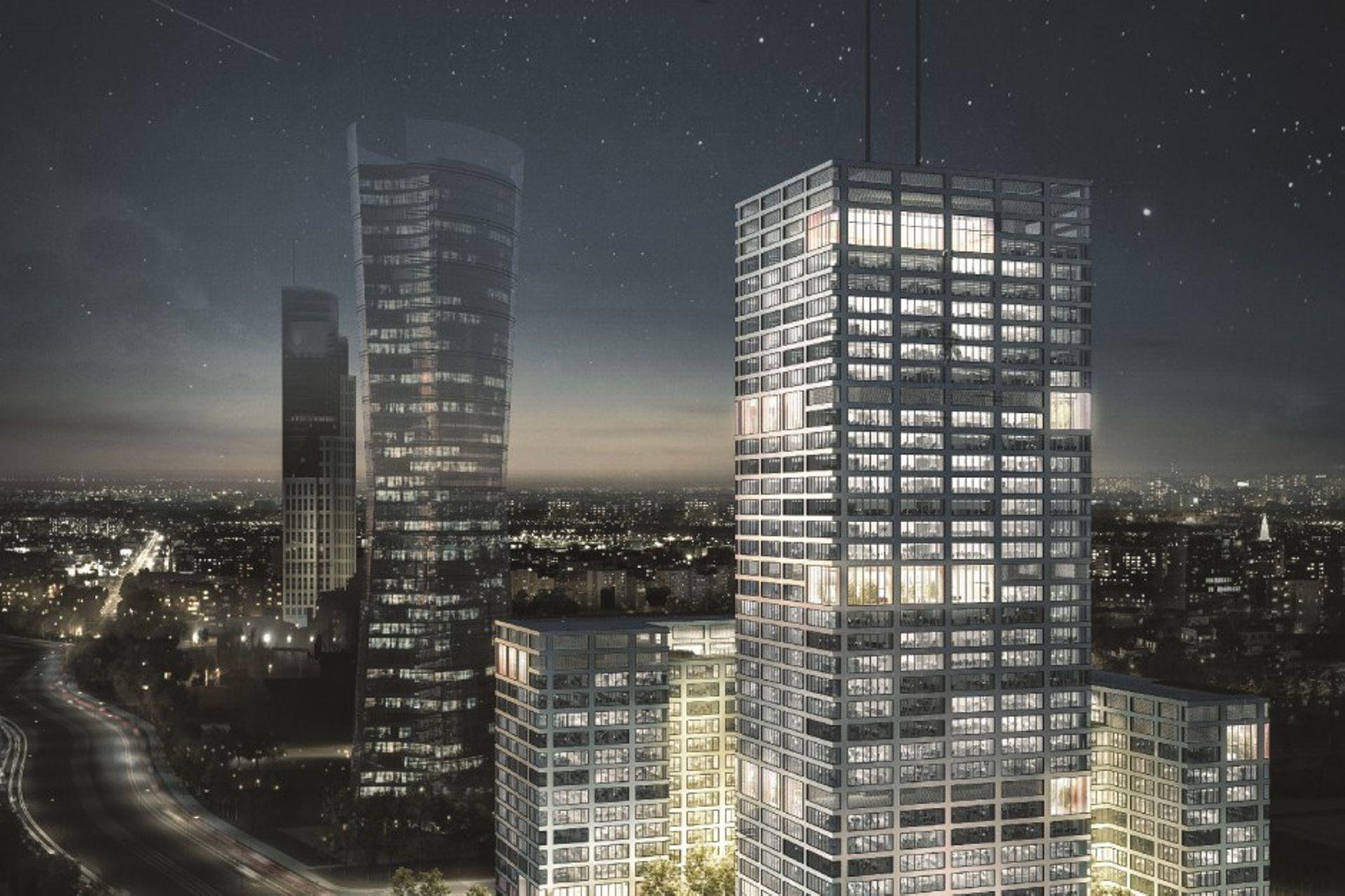 Warszawa: biurowe plany Skanski
