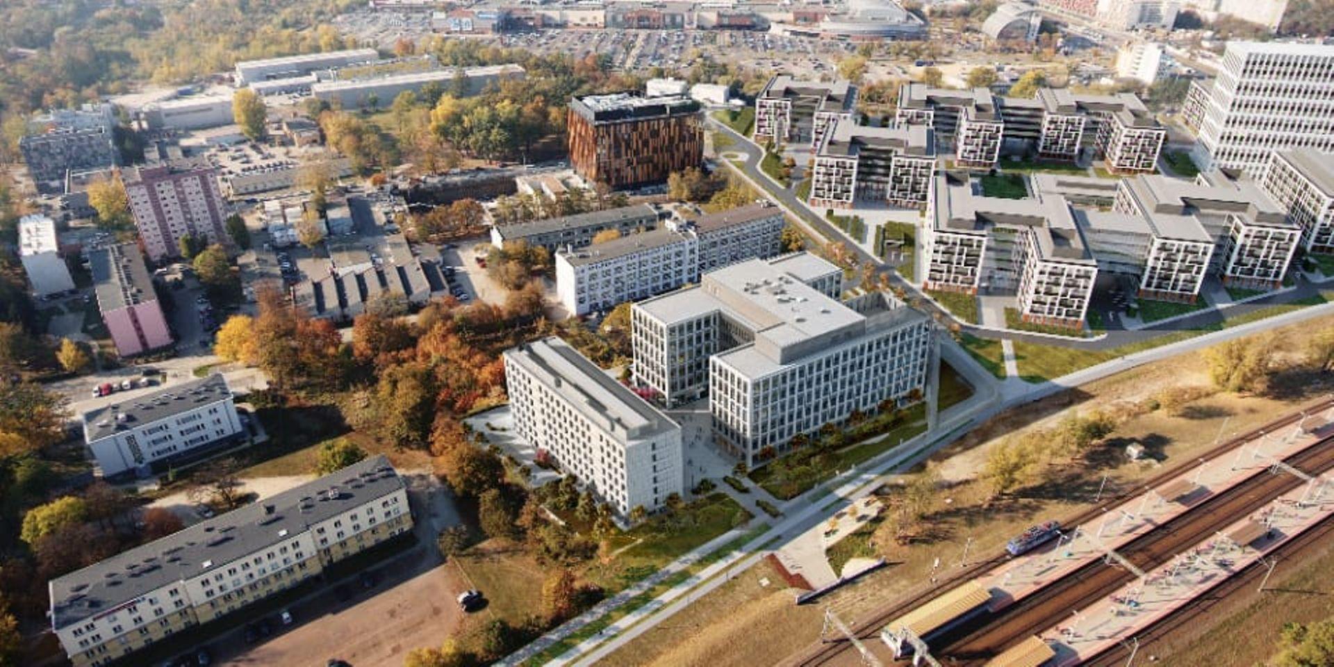 Znamy szczegóły nowej inwestycji biurowo-hotelowej przy stacji Wrocław-Mikołajów