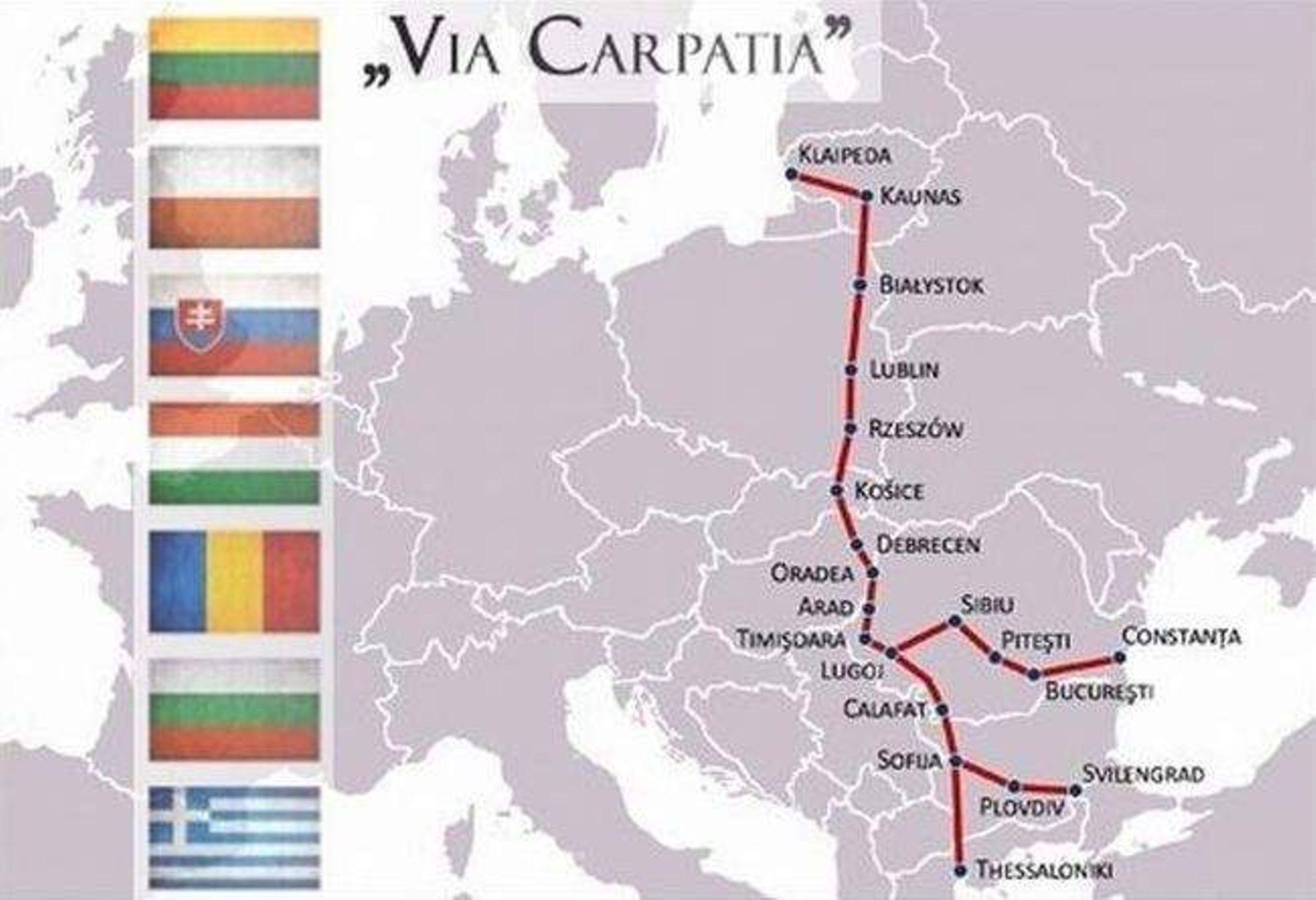 [Polska] Via Carpatia szansą dla Polski Wschodniej?